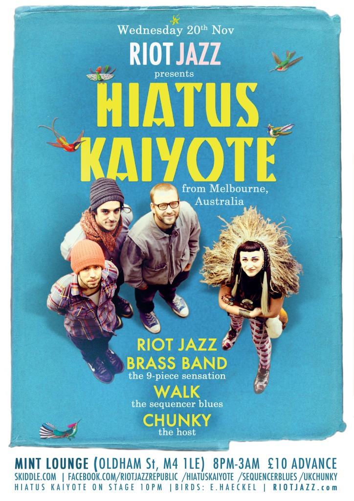 Hiatus Kaiyote!
